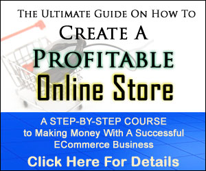 create online web store